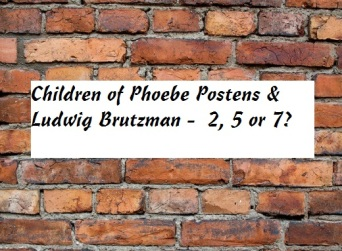 brick wall Children Phoebe Ludwig