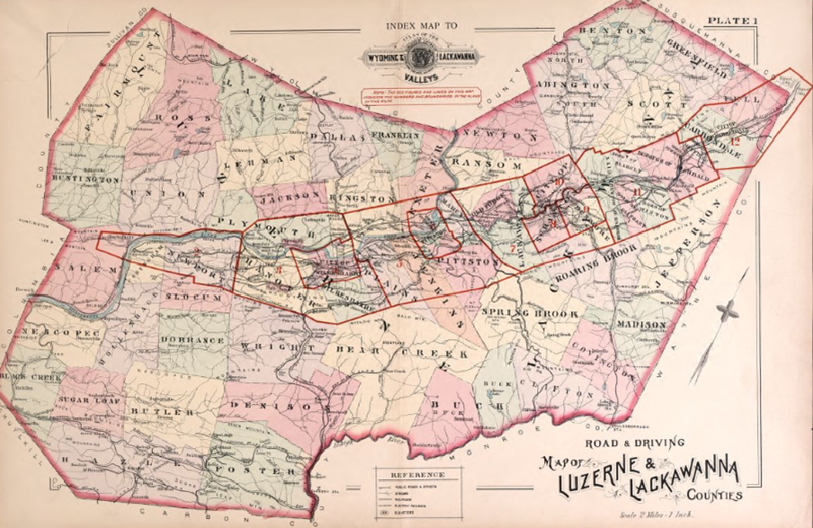 Lackawanna Luzerne counties 1894 from Library of Congress