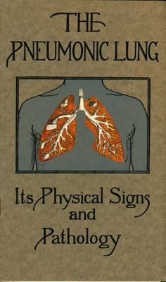 pneumonic lung ca 1920
