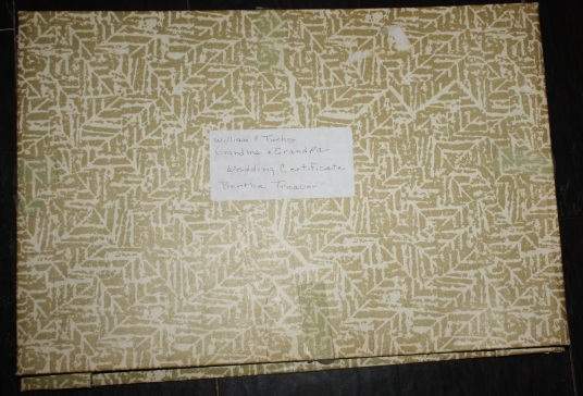 Tucker-Traver_marriage certificate_box