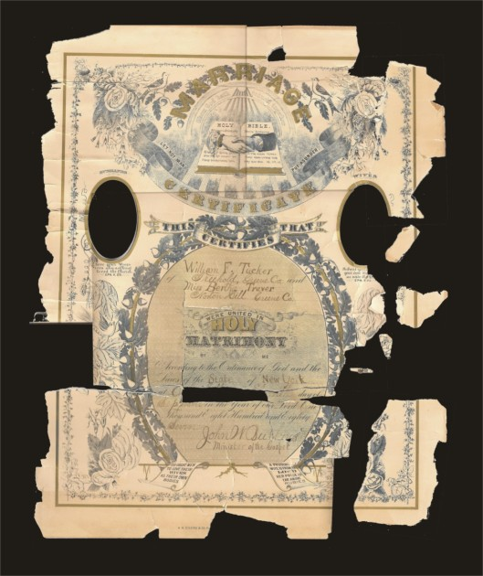 TuckerTraver Marriage Certificate