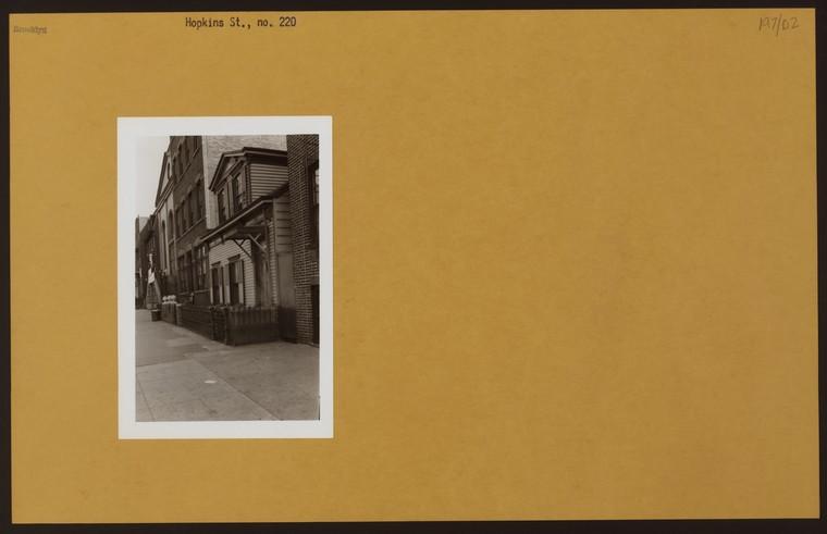 Hopkins Street