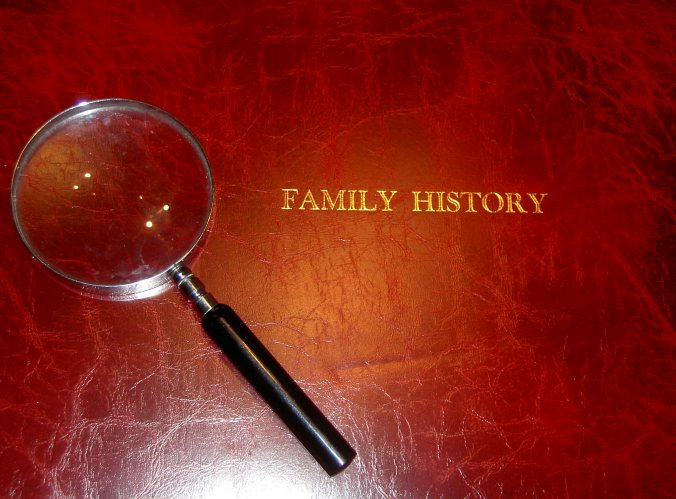 family history book image